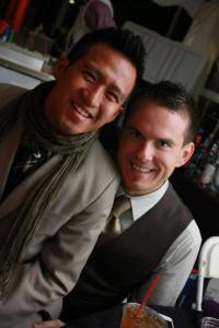 Randy and I